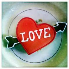 Love Arrow Cookies