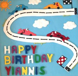 "10"" RaceCar Birthday - €75+"