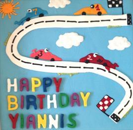 """10"""" RaceCar Birthday - €75+"""