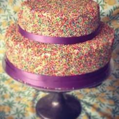 Sprinkle Cake - 2 Tier - €75+