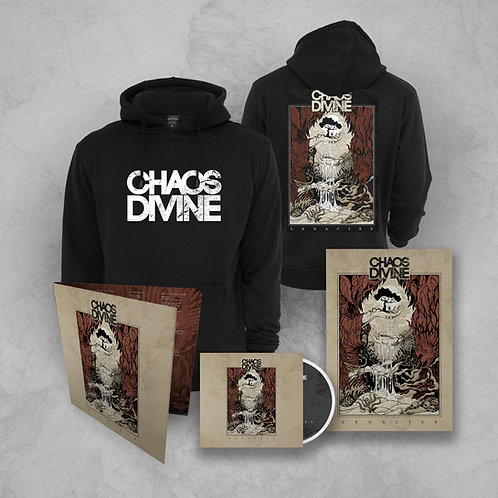Legacies Hoodie+Vinyl+CD Bundle (free signed poster)