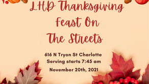 Annual feast on the streets