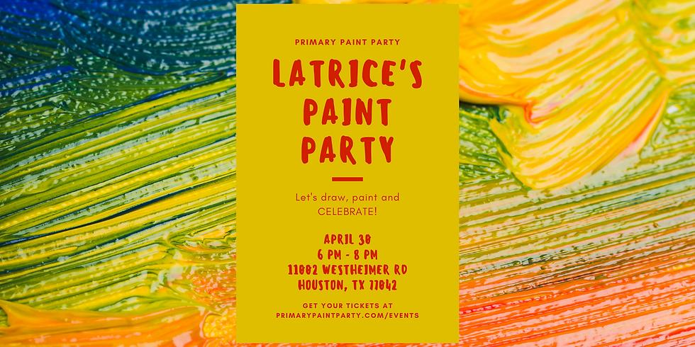 Latrice's Paint Party