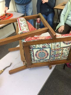 LAdies Upholstery Session