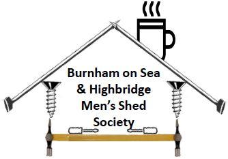 Burnham Mens Shed Logo