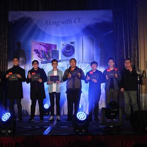 三星鵬泰CE團隊2018年終餐會