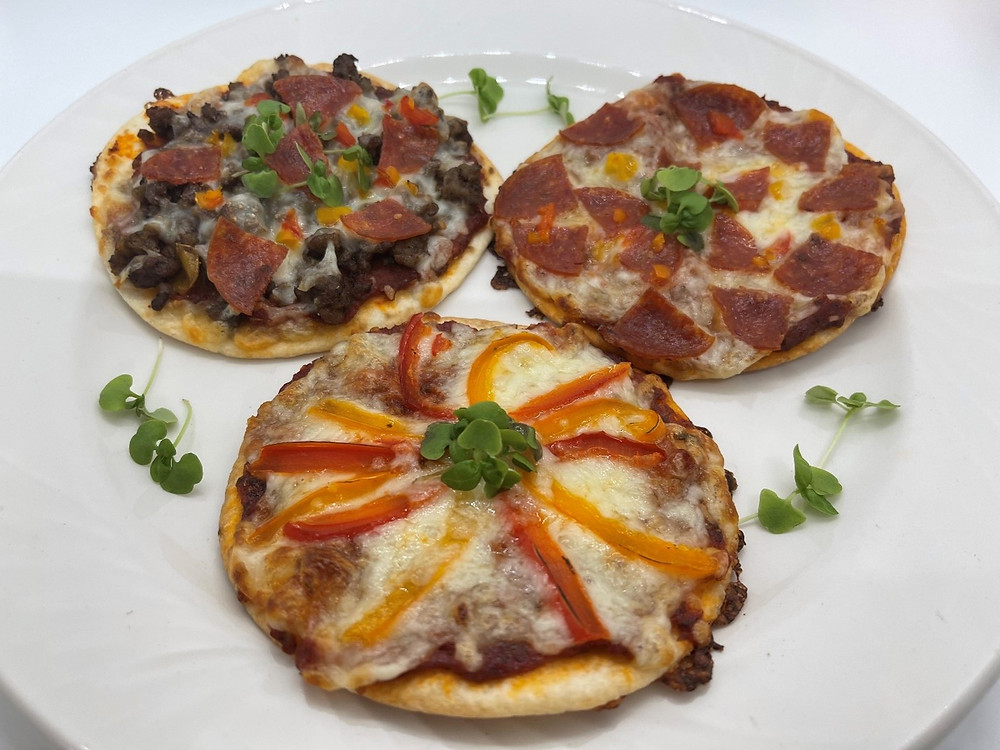 Homemade Microgreen and Veggie-full Pizza Sauce by Debbie Warbington and On The Grow