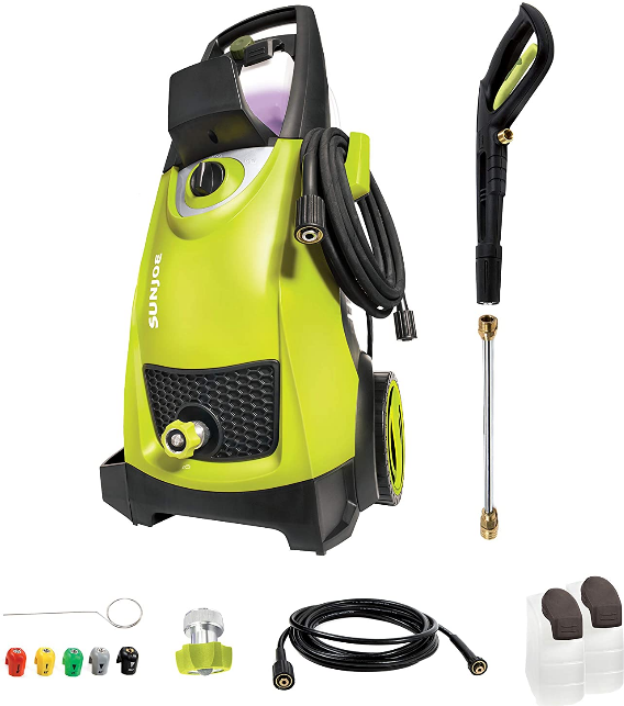 Power washer for cleaning microgreen trays