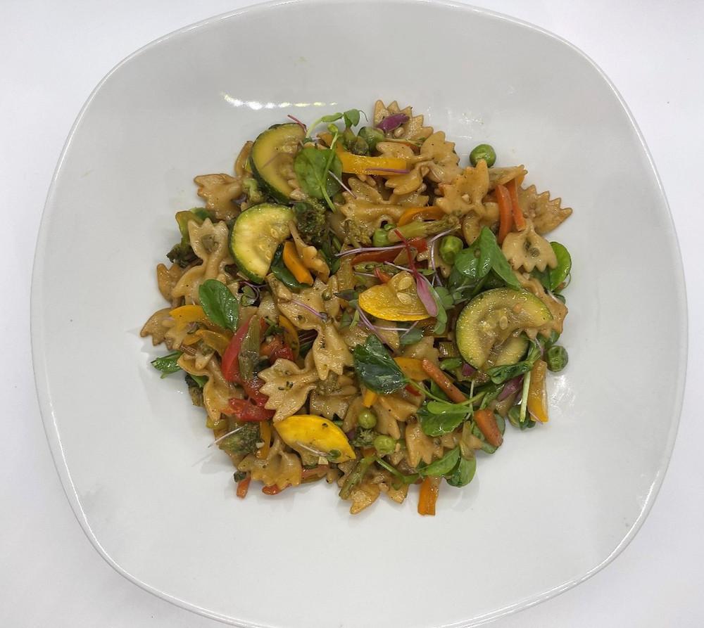 Microgreen Veggie Stir Fry by Debbie Warbington and On The Grow