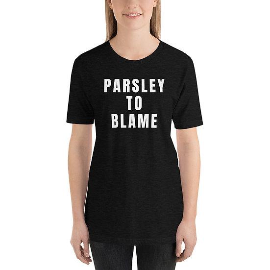 Parsley to blame