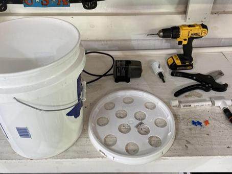 DIY EASY Aeroponics Bucket System for Growing or Cloning plants, veggies, herbs & fruit!
