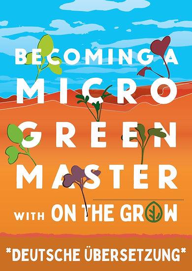 Werden Sie ein Microgreen-Meister: mit On The Grow - eBook
