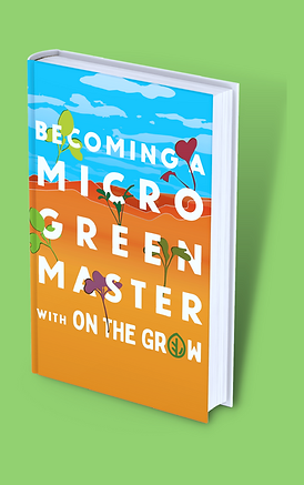 Becoming a Microgreen Master by On The Grow, Paperback mockup.png