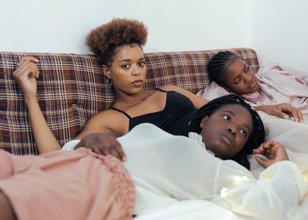 BGD - 3 Black Women Pexels Image