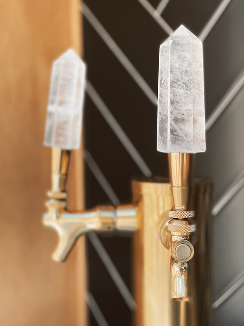 Crystal Tap Handle