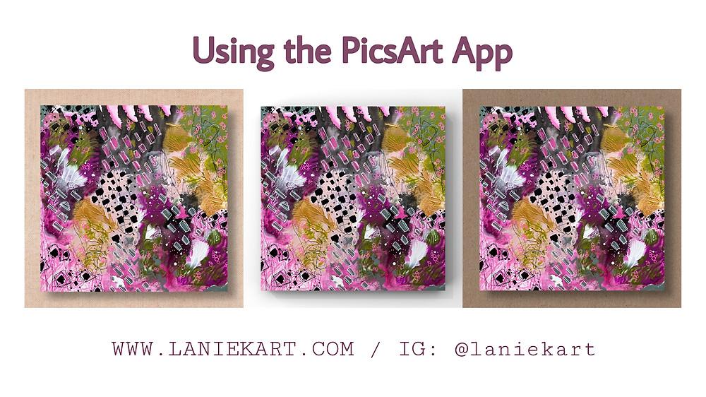 Lanie K. Art Using the PicsArt App Help