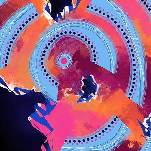On an Upward Spiral - Giclée Print