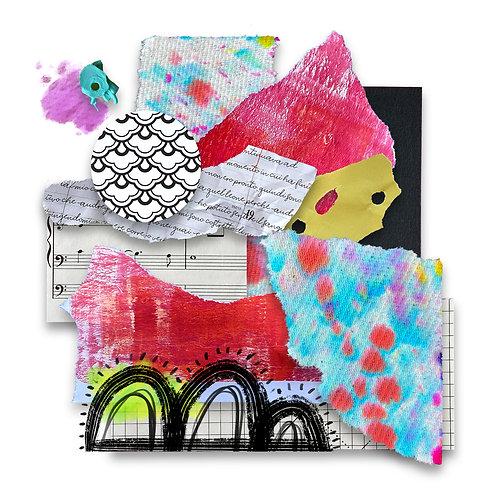 Colorful Music - Giclée Print