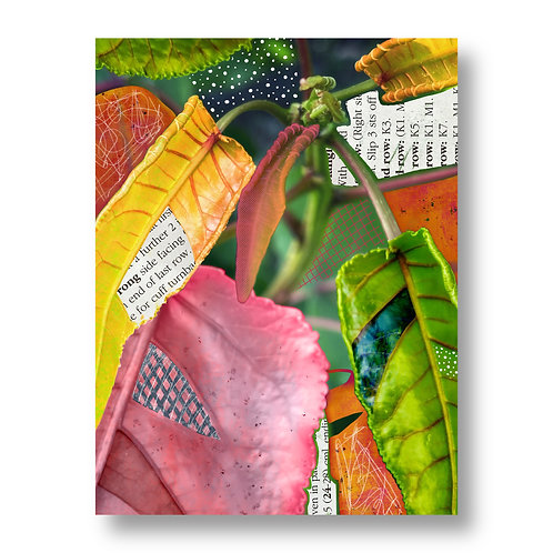 """Leaf""ing Home for the Tropics - Giclée Print"