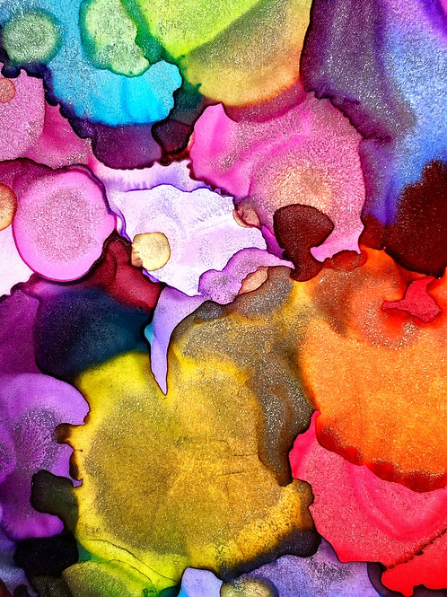 Free Alcohol Ink Design with Coupon