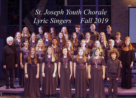NEW SINGERS- Lyric Singers Semester Membership
