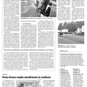 Jornal Diário dos Campos - Ponta Grossa: Plano de Mobilidade vai seguir aumento da frota