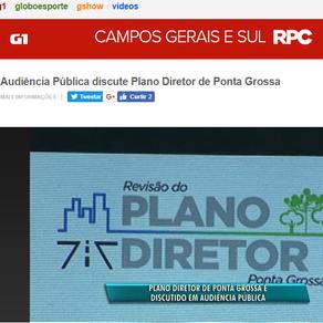 Audiência Pública discute Plano Diretor de Ponta Grossa