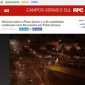 Oficinas sobre o Plano diretor e o de mobilidade continuam com discussões em Ponta Grossa