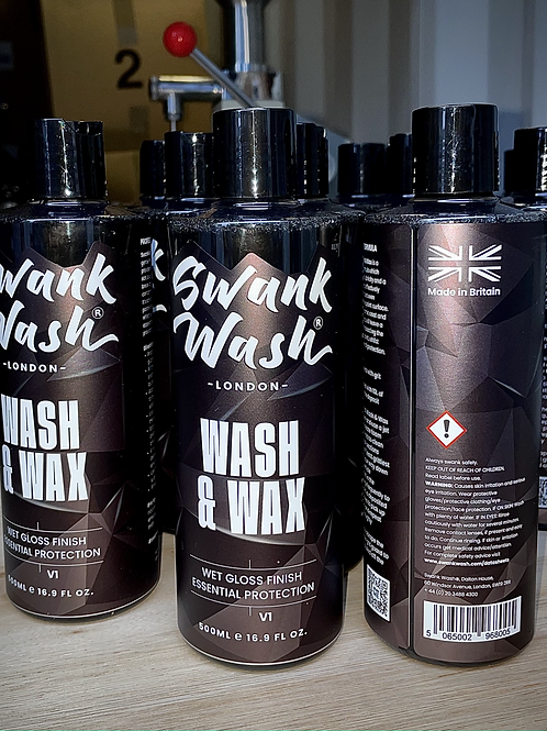 Swank Wash, Wash & Wax