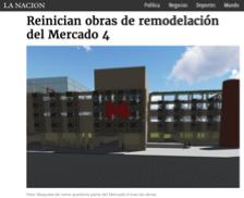 """""""REINICIAN OBRAS DE REMODELACIÓN DEL MERCADO 4"""""""