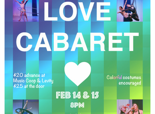 Celebrate Valentine's at our sexy & inclusive cabaret!