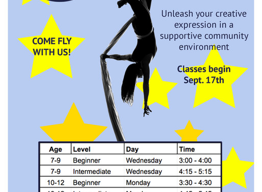 Kids Classes Starting