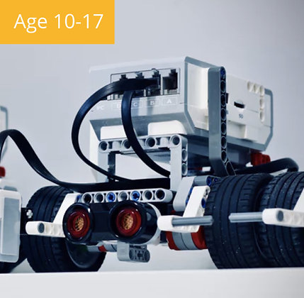 Robotics with LEGO EV3 Summer Camp | Age 10-15