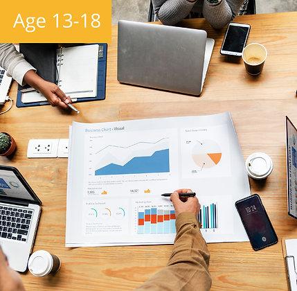 Youth High-tech Entrepreneurs Summer Camp | Age 13-18