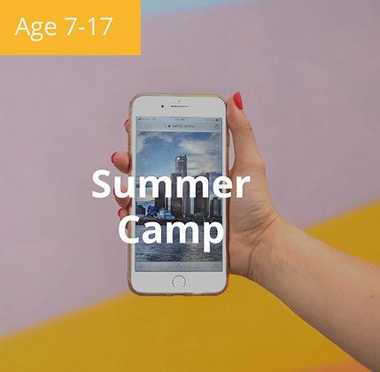 iOS App Development Summer Camp   Age 7-17