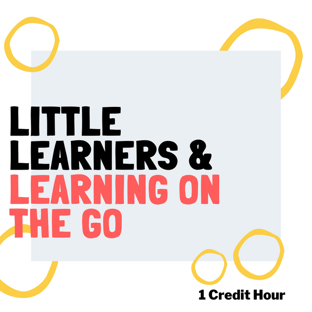 Little Learners: Learning on the Go!