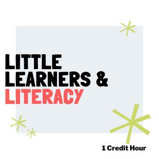 Little Learners: Literacy