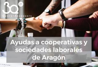 Ayudas a cooperativas y sociedades laborales de Aragón