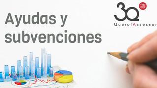 Batería de subvenciones de la Com. Valenciana