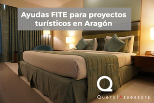 Ayudas FITE para proyectos turísticos en Aragón