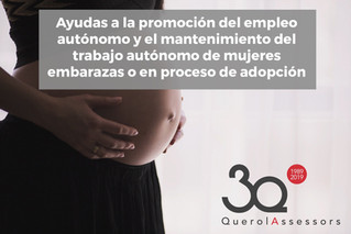 Ayudas a autónom@s y mujeres embarazadas