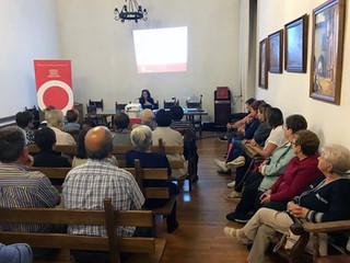 Visitamos la Iglesuela para explicar la regulación de sucesiones en Aragón