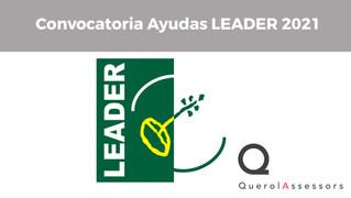Convocatoria Ayudas LEADER 2021
