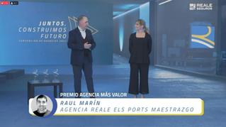 Mejor Agencia Reale de España por 2º año consecutivo