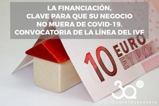 Financiación, la clave para que su negocio no muera de Covid-19