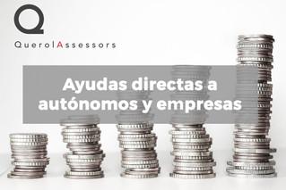 Ayudas directas a autónomos y empresas
