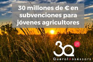 Subvenciones para jóvenes agricultores