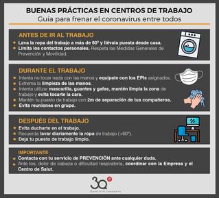 Guía de buenas prácticas en centros de trabajo
