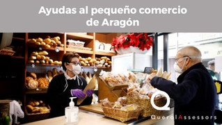 Ayudas al pequeño comercio de Aragón