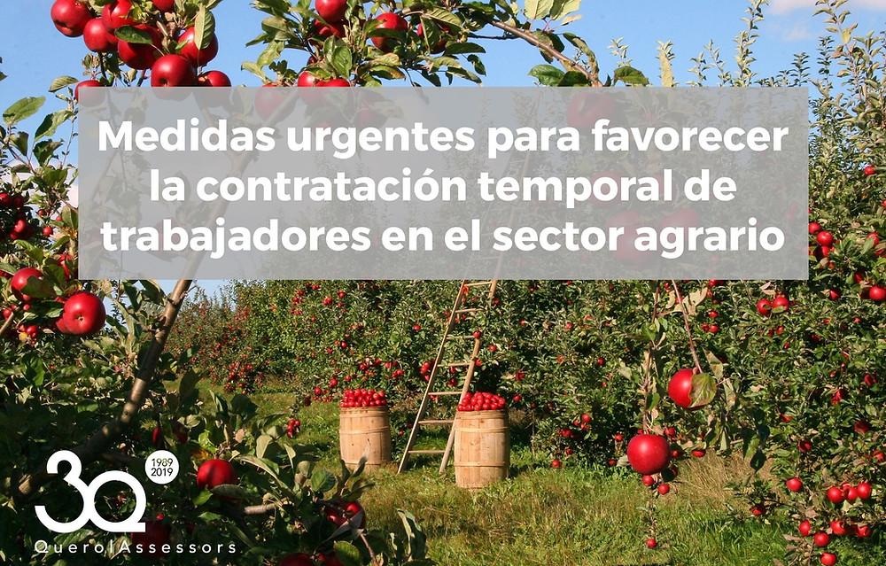 sector agrario coronavirus